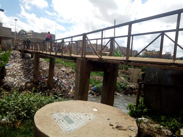 Bad state of the Bridge connecting Ngomongo and Glucola